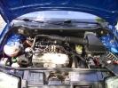 Blick in den umgebauten Motorraum